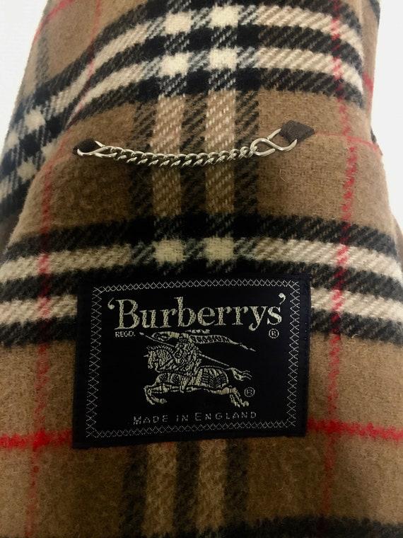 BURBERRYS' VINTAGE -montgomery in lana uomo -men's