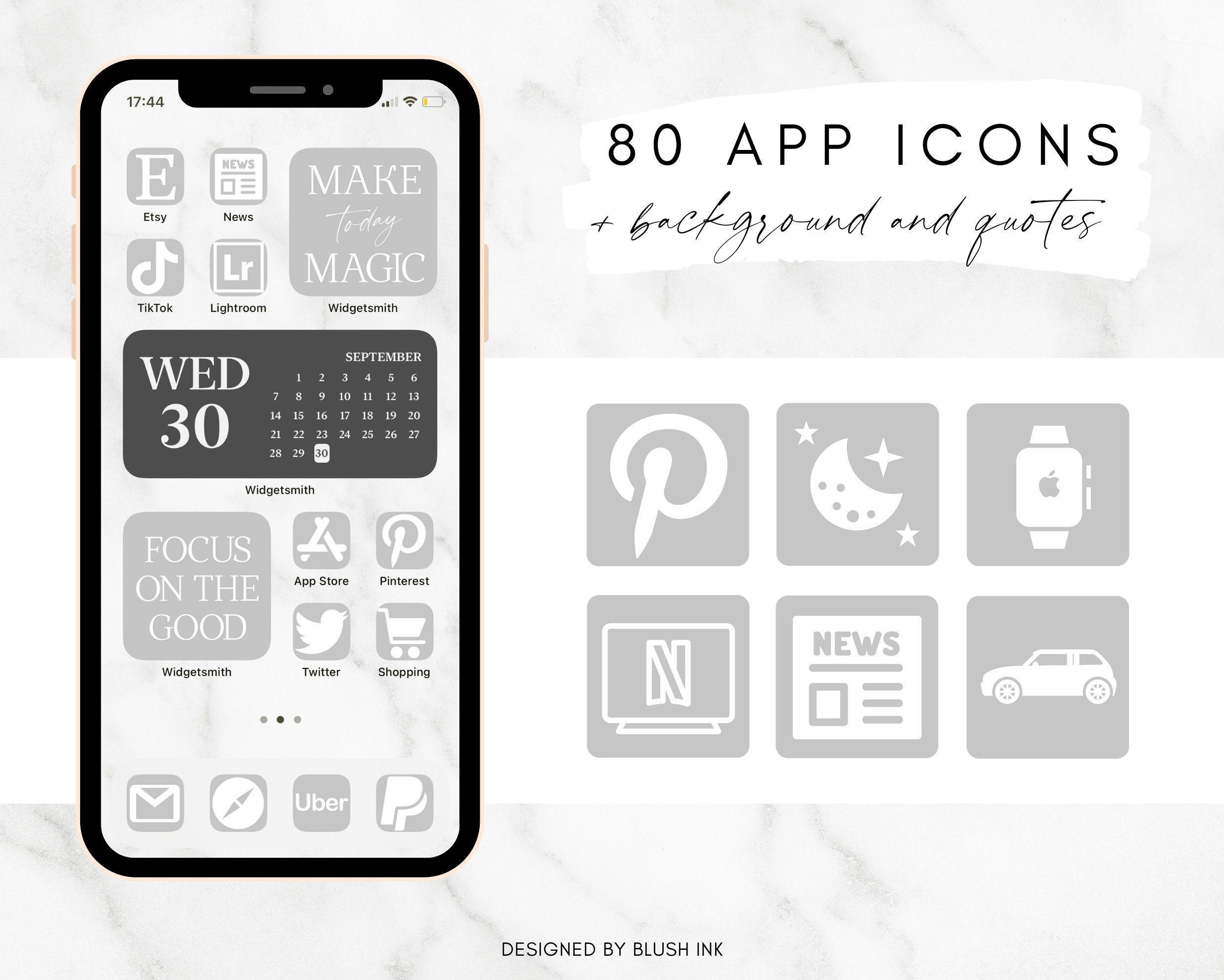 iPhone IOS 25 App Icons Pack, Grey Apps Icons Aesthetic, Neutral App  Covers, App Icons, Minimal App Icon, Grey and White IOS25 Theme, IOS 25