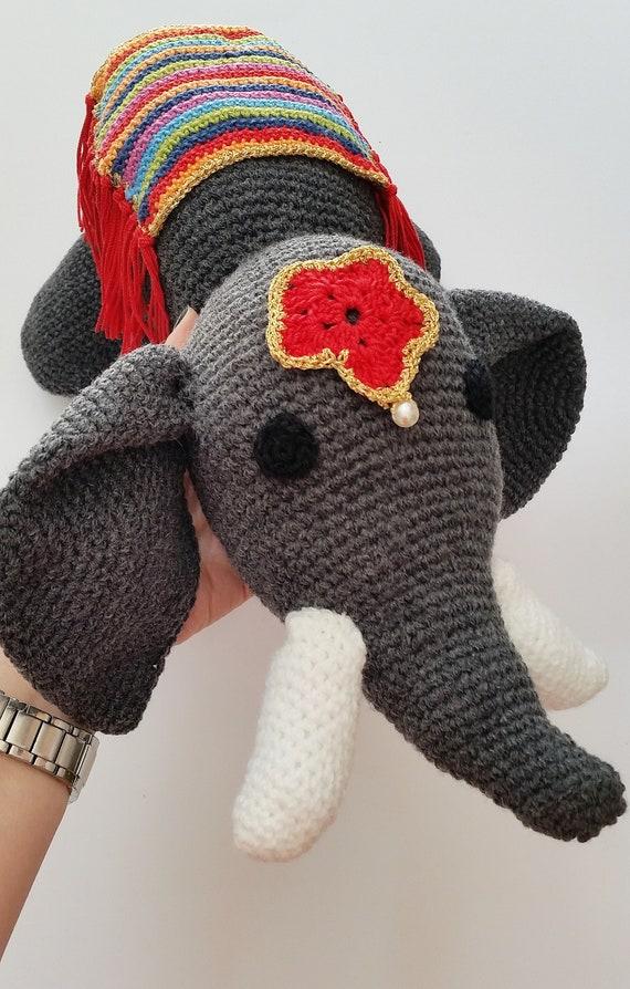 Tutorial Elefante Indiano Amigurumi Portachiavi (sub. English y ... | 894x570