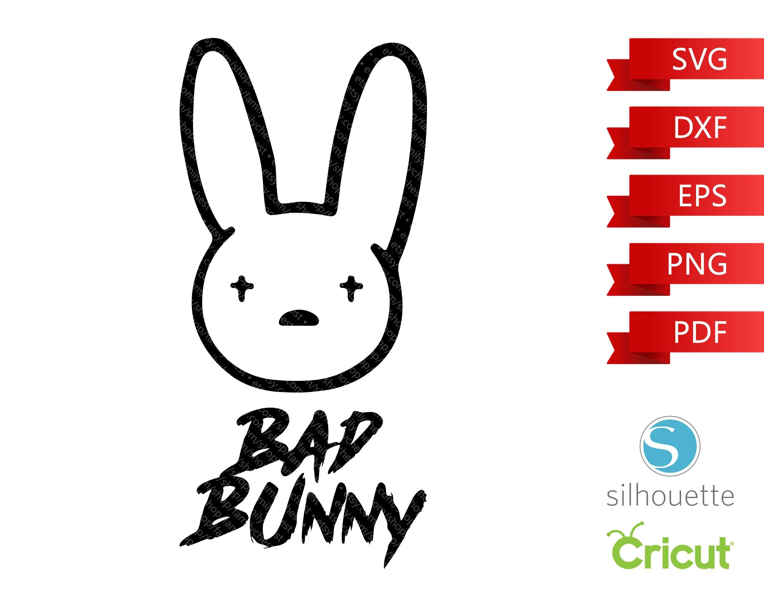 Bad Bunny Logo SVG El Conejo Malo Bad Bunny Music SVG Cut ...
