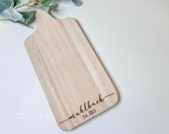 seasoned with love Custom Engraved Cherry wood -21097-CUTB-003 Roll With It  Cutting Board Personalized Cutting board