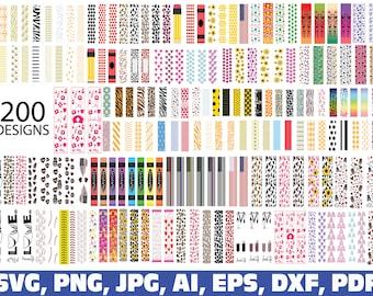 glitter pen wraps svg, window epoxy glitter pen wraps svg bundle, Glitter Pen patterns svg, Pen Box Template, Pen Packaging, epoxy pens wrap