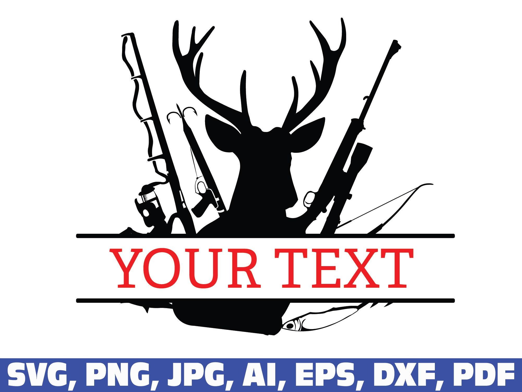 Download Deer Monogram Svg Hunting Fishing Svg Fishing Svg Hunting Etsy
