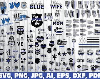 thin blue line svg bundle, thin blue line svg, police svg, back the blue svg, police officer svg, thin blue line flag svg, blue line svg