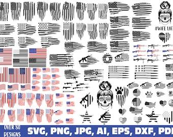 american flag svg, usa flag svg, distressed flag svg, us flag svg, usa svg, flag svg, american flag printable, american flag SVG bundle, usa