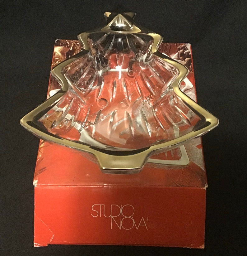 Studio Nova Yuletide Spirit Silver Sweet Dish
