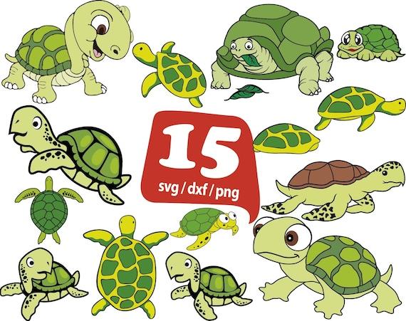Sea Turtle SVG Turtle Svg Turtle Color Svg Aquatic Svg Etsy