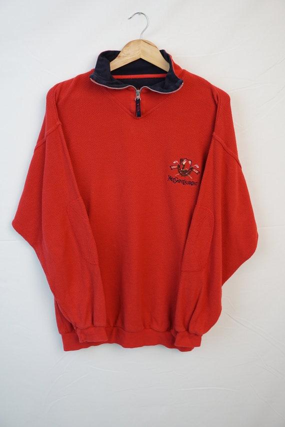 Vintage Oldschool 80s 90s YSL Blouse