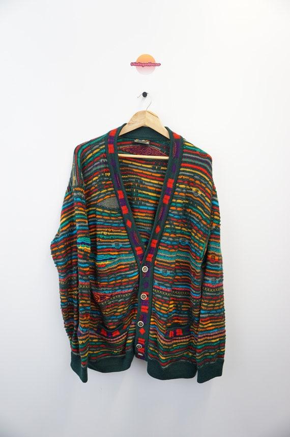 Vintage Oldschool Knit Pulli Pullover Sweater 80s
