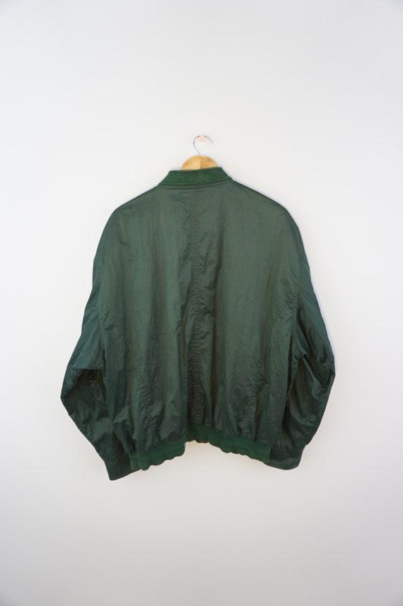 Vintage Oldschool 90s Bomber Silk Jacket Bogner - image 3