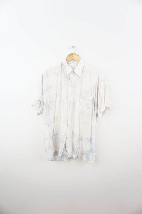 M DDR Netzhemd Hemd Vintage Retro Muskelshirt kleinmaschig Gr