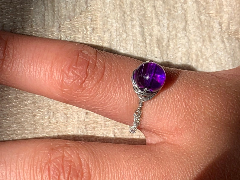 Small coloured Stone Rings