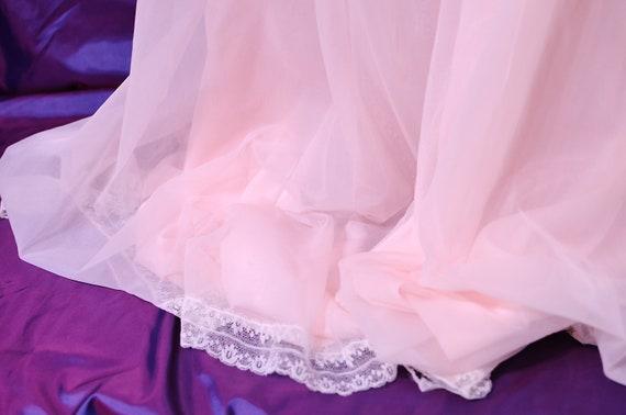Lucie Ann Double Nylon Peignoir Robe NWOT L - image 4