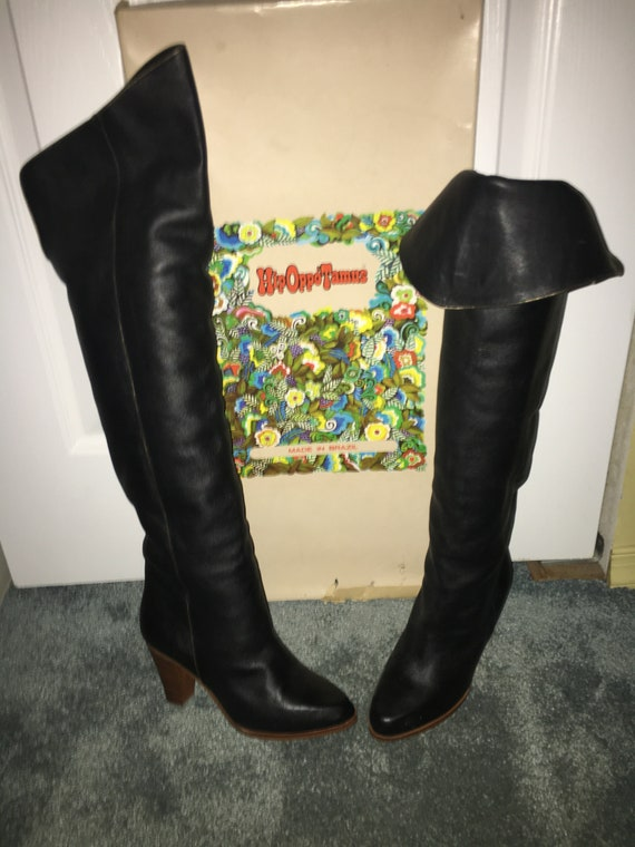 Vintage over the knee boots
