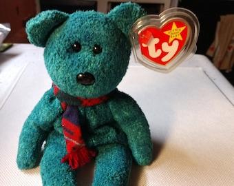 Ty plush green bear | Etsy