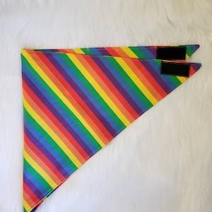 Gay Pride Rainbow Flag Fursuit Bandana