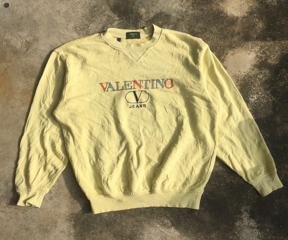 Vintage Valentino Italy multicolour logo embroider