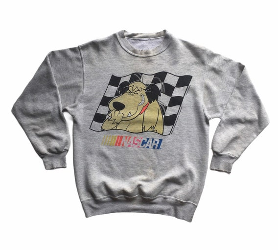 Vintage 1994 Hanna Barbera x NASCAR distressed cre