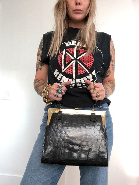 Vintage Authentic Alligator Bag