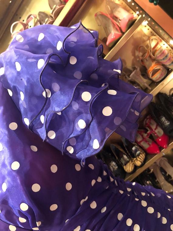 Vintage Polka Dot Dress - image 2
