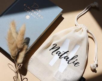 Fairtrade 100% organic cotton gift bag, bag, jute bag, gift bag, cloth bag, jute bag, customizable