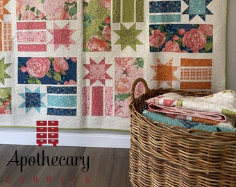 Constance Quilt Pattern - PAPER PATTERN - Designed by Robin Pickens - Available in Three Sizes