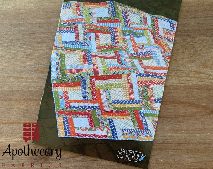 Off the Rail Quilt Pattern - PAPER PATTERN - Designed by Jaybird Quilts