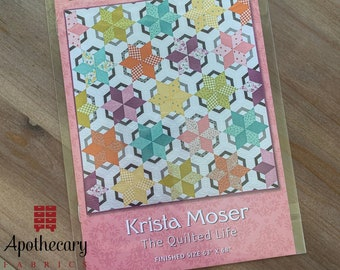 Vintage Windmill Quilt Pattern - PAPER PATTERN - Designed by Krista Moser of The Quilted Life