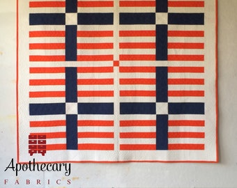 You + Me Quilt Pattern - PAPER PATTERN - Modern Quilt Pattern by Heather Jones Studio