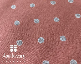 Art Gallery Earthen Collection - Allium Specks Rose - DESIGNER FABRIC - Sold by the 1/2 Yard
