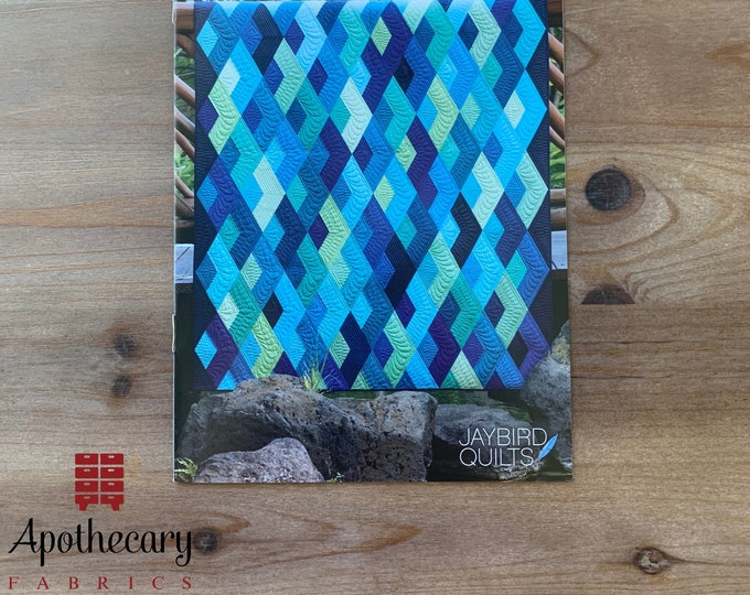 Boomerang Quilt Pattern - PAPER PATTERN - Designed by Jaybird Quilts Julie Herman