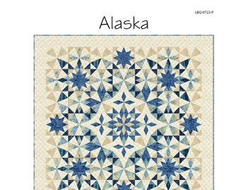 Alaska Quilt Sewing Pattern - PAPER PATTERN - Designed by Laundry Basket Quilts
