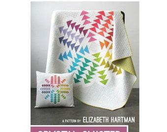 Crystal Cluster Quilt Sewing Pattern - PAPER PATTERN - Designed by Elizabeth Hartman
