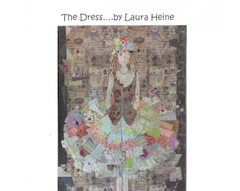 The Dress Collage Quilt Sewing Pattern by Laura Heine