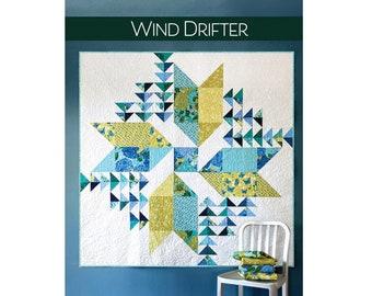 Wind Drifter Quilt Pattern - PAPER PATTERN - by Robin Pickens