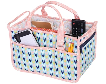 In Control Tote Bag Sewing Pattern By Annie - PAPER PATTERN - Travel Tote and Storage Organizer