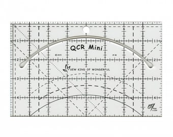 Mini Quick Curve Ruler - By Sew Kind of Wonderful - Sewing and Quilting Ruler