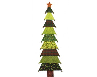 For Evergreen Decorative Christmas Tree Sewing Pattern - PAPER PATTERN - Create your own Holiday Decor!