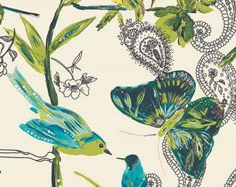 Cest la View Winter Joie de Vivre Canvas - ART GALLERY Fabrics - Sold by the 1/2 Yard