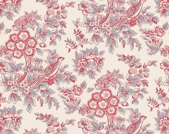 Riley Blake Designs Jane Austen at Home Charlotte - Sold by the 1/2 Yard
