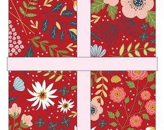 Farm Girls Unite 10 inch Layer Cake Stacker - POPPIE COTTON - Pre Cut Quilt Fabric