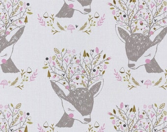 Emma & Mila HMD Portrait Camelot Fabrics Cotton Woven Quilt Fabric - DESIGNER FABRIC - Sold by the 1/2 Yard