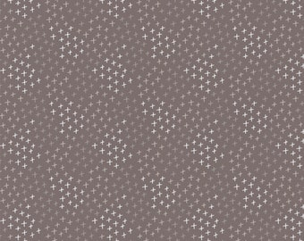 Emma & Mila HMD Tonal Crosses Camelot Fabrics Cotton Woven Quilt Fabric - DESIGNER FABRIC - Sold by the 1/2 Yard