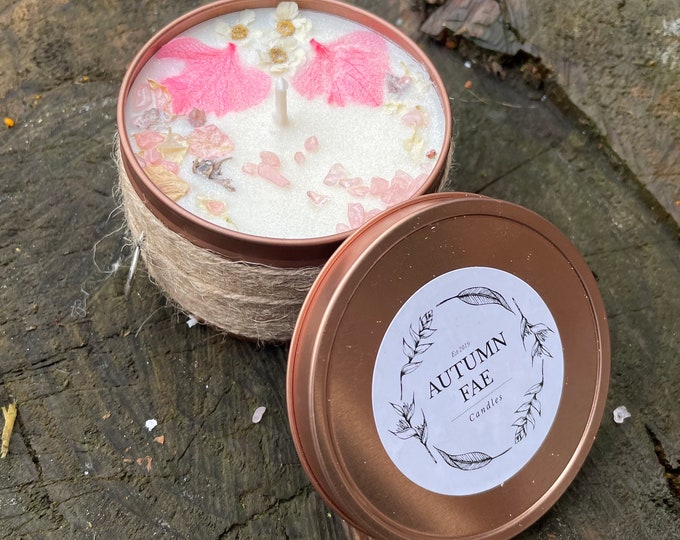Winona- Peony scented candle