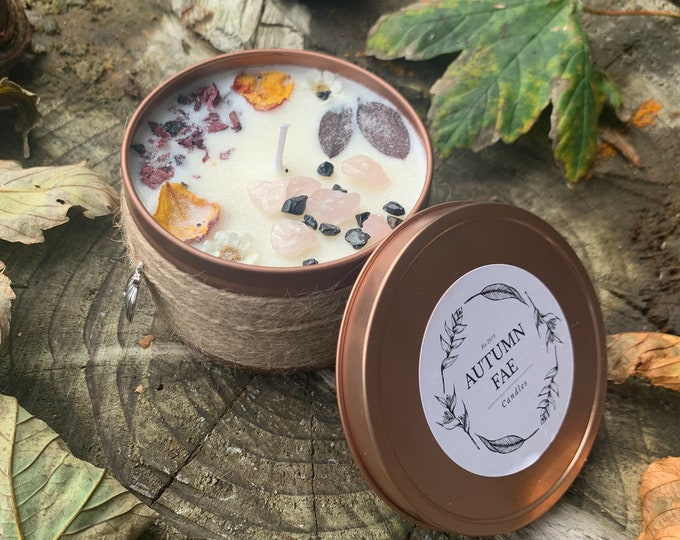 Asia- Crackling campfire scented candle