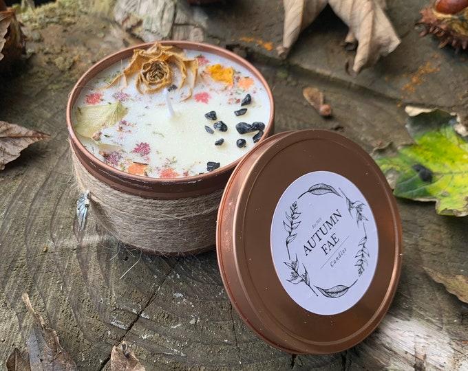 Helena- Myrrh & tonka scented candle