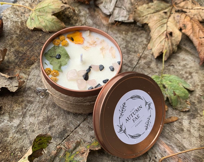 Rayna- Pumpkin soufflé scented candle