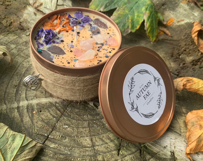 Arielle- Pumpkin spice scented candle