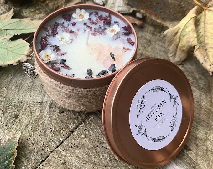 Marcelline- Apple & cinnamon scented candle