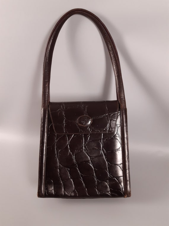 Ultra Rare Vintage Authentic Mulberry Brown Congo
